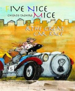 Five Nice Mice and the Great Car Race Book Cover
