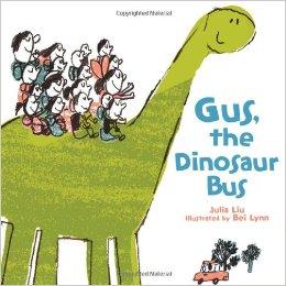 Gus the Dinosaur Bus Book Cover