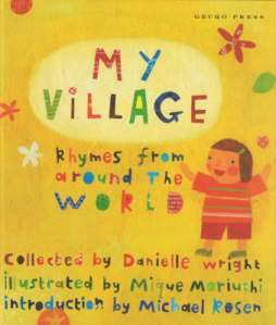 My Village Rhymes from Around the World Book Cover