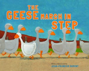 The Geese March in Step Book Cover