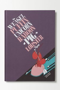 The Weasel Puffin Unicorn Lobster Race Book Cover