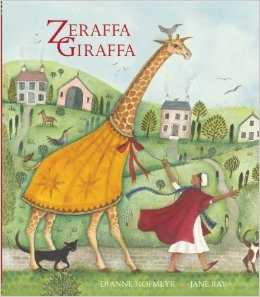 Zeraffa Giraffa Book Cover