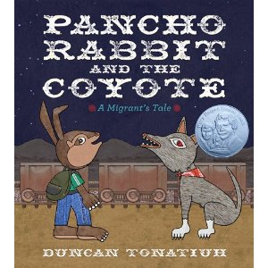 Pancho Rabbit and the Coyote Book Cover