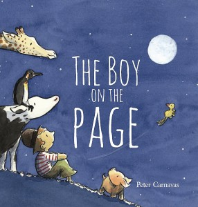 The Boy On The Page Book Cover