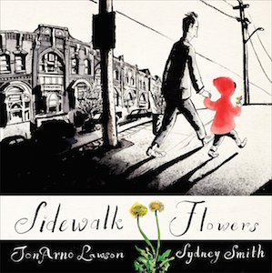 Sidewalk-Flowers-by-Jon-Arno-Lawson-on-BookDragon